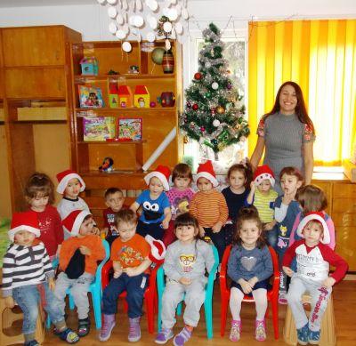 В очакване на Дядо Коледа - група Маргаритка - ДГ Звънче - Шумен